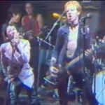Stiv Bators and Cheetah Chrome of the Dead Boys in live footage from CBGB in 1977.