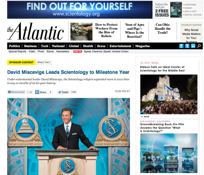 "The ""Sponsor Content"" that was later removed from The Atlantic website."